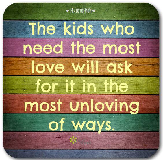 Kids Who Need The Most #love.. @10millionmiler #quotes