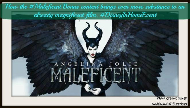 #Maleficent bonus content brings even more substance to the magnificent film