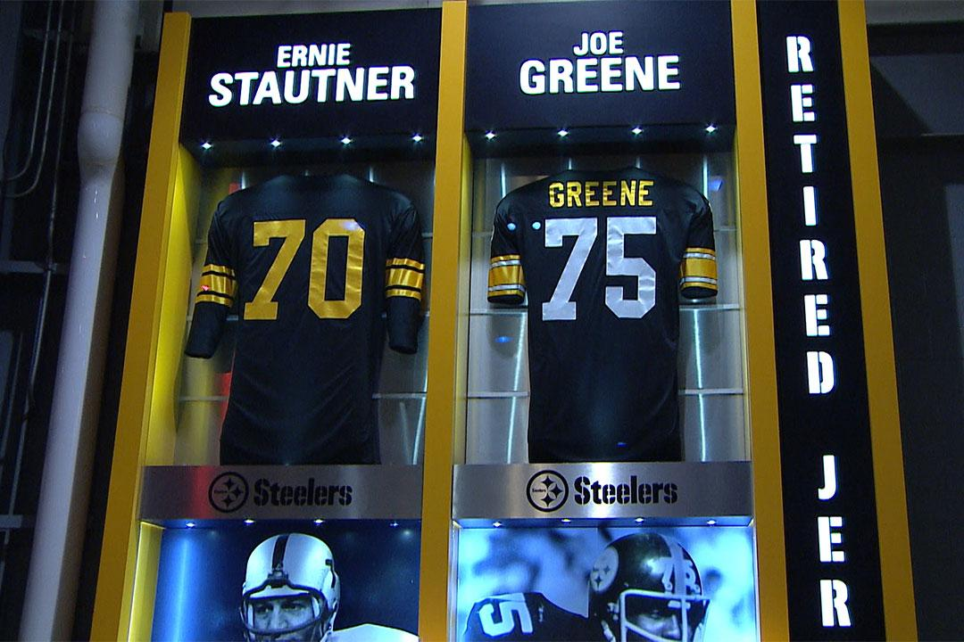 steelers retired jerseys