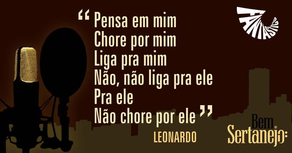 ♫♪ Pense em mim... ♪♫ #Leonardo no #BemSertanejo http://t.co/MRPRhIiF95