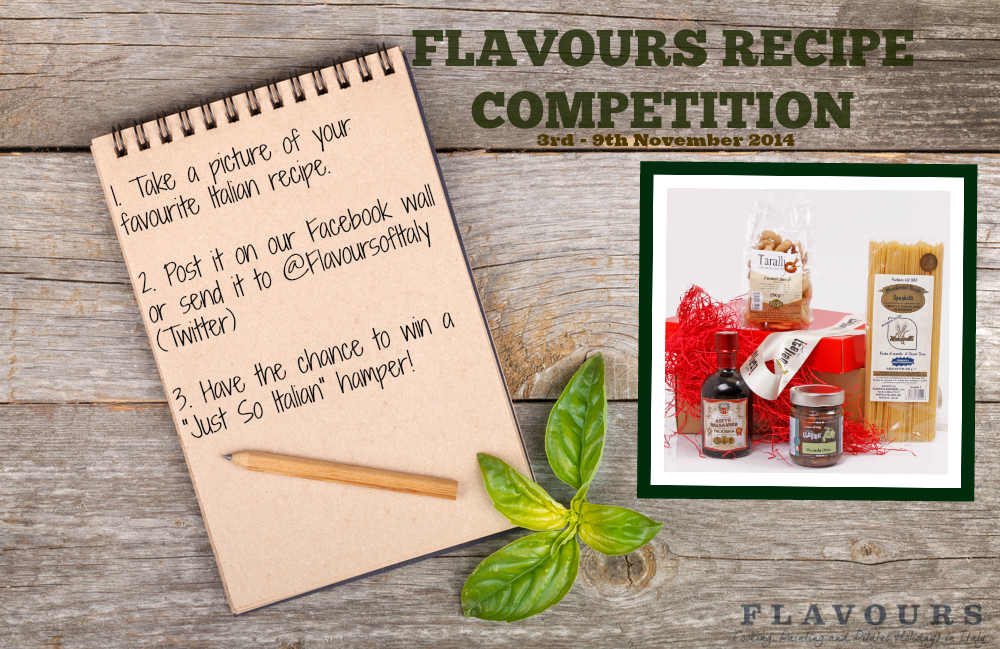 Enter our #competition by sending  a photo of your Italian #recipe @FlavoursofItaly.  T&Cs http://t.co/nxiCR5eo66 http://t.co/gCak2kKLdC