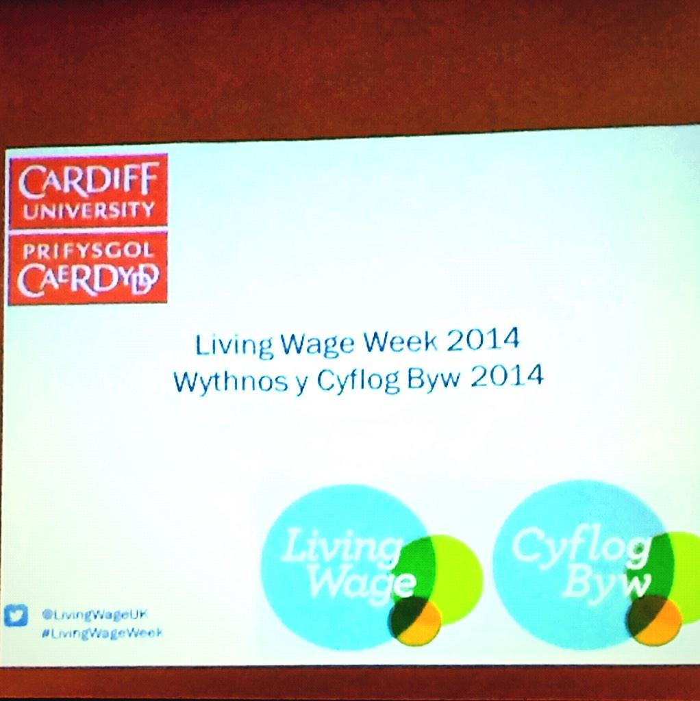 Thumbnail for Launch of #LivingWageWeek