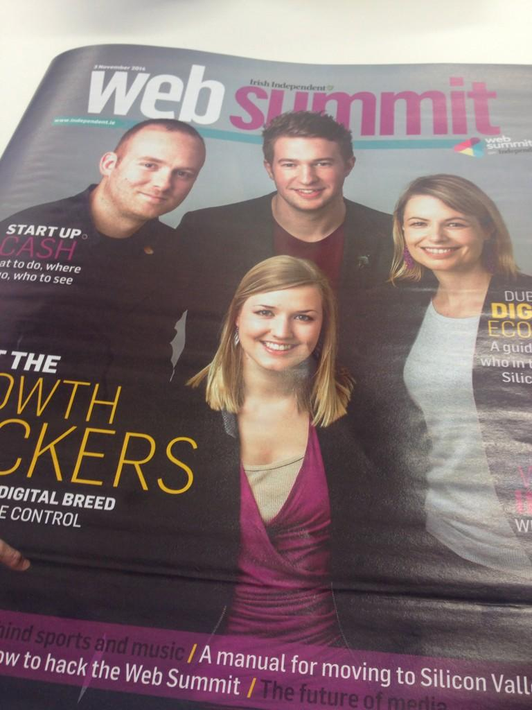 Impressive 40page supplement by @Independent_ie on #websummit. Check out their #summitnewsroom at the event http://t.co/u7BaGeuKcO