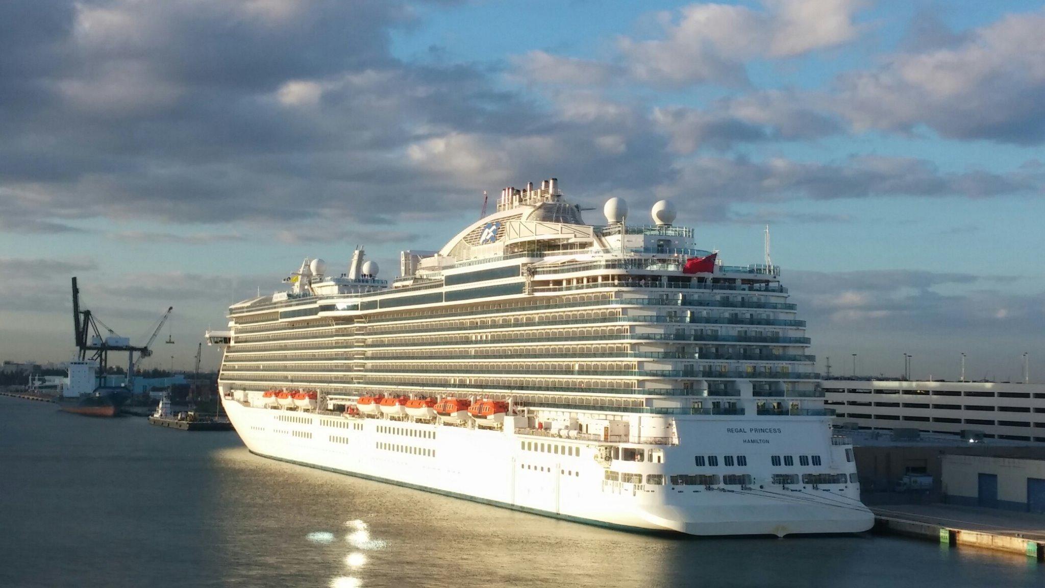 Regal Princess Arrives In Port Everglades Cruiseind
