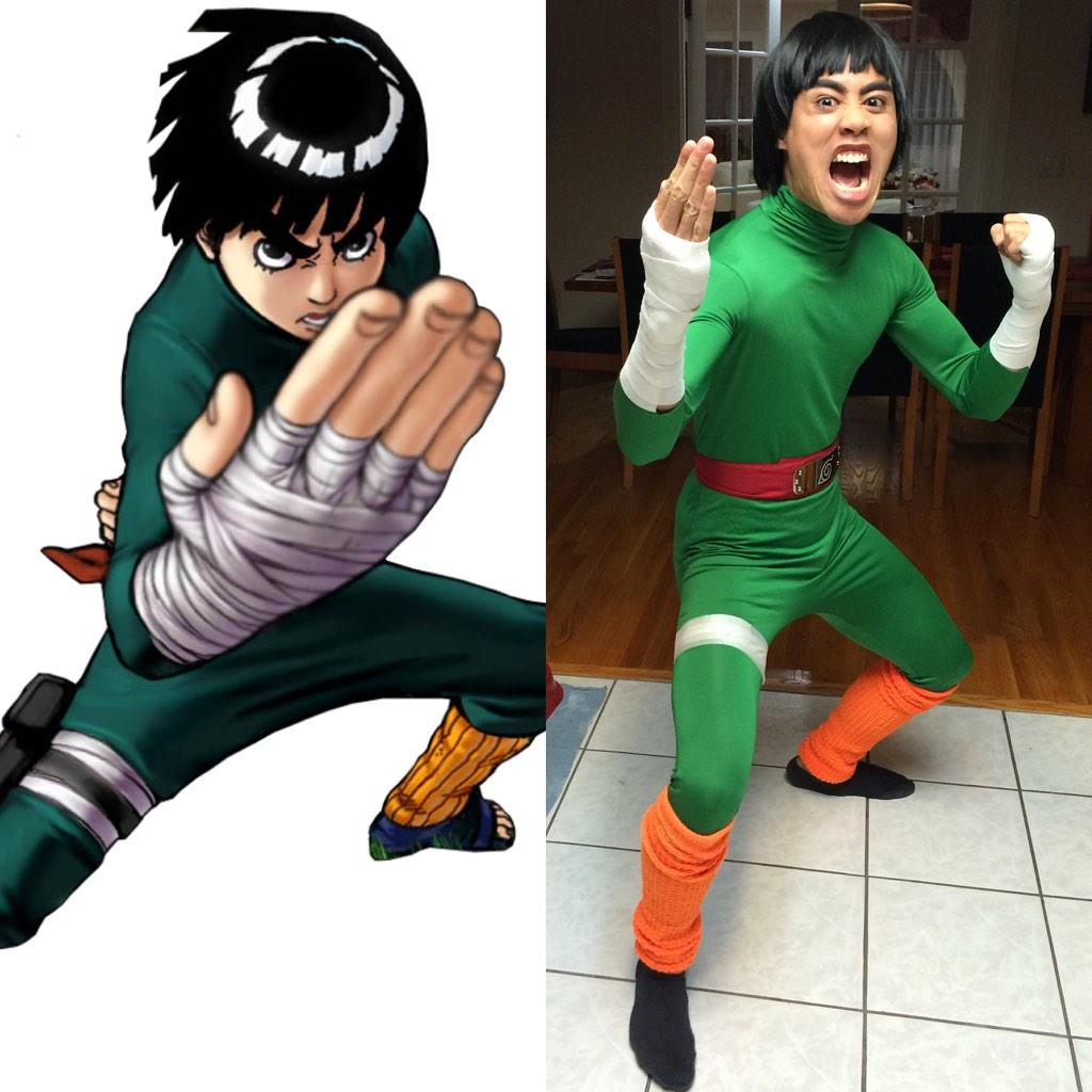 Dressed as #RockLee for #Halloween #Naruto #Cosplay @NarutoNetwork http://t.co/tn6WoGhPlZ