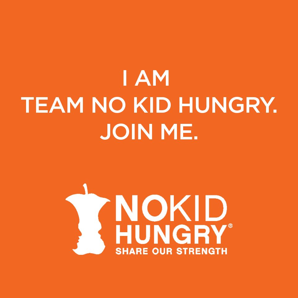 Inspired to see our community grow to 100K strong in support of #NoKidHungry~Couldn't do it w/o your support #TeamNKH http://t.co/VKXDzYiWjp