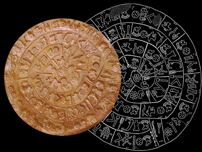 クレタ島で発見された4千年前のミノア文明の円盤。長きに渡り研究者を困惑させてきたが、ようやく解読に成功!「これはミノア文明最初のCDロムだ」⇒Ancient Phaistos Disk… http://t.co/TwkjEdMswM http://t.co/Uv3AXMrTKn