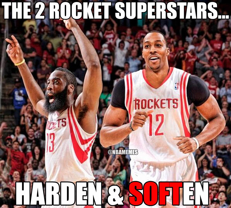 Houston Rockets Funny: NBA Memes (@NBAMemes)