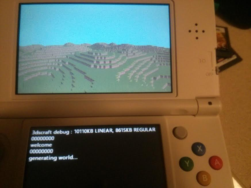 Minecraft 3DS (Homebrew, but looks awesome) - 3DS Forum - Page 1