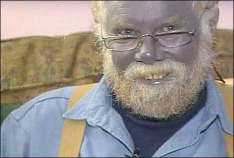 kolloidalt silver blå man