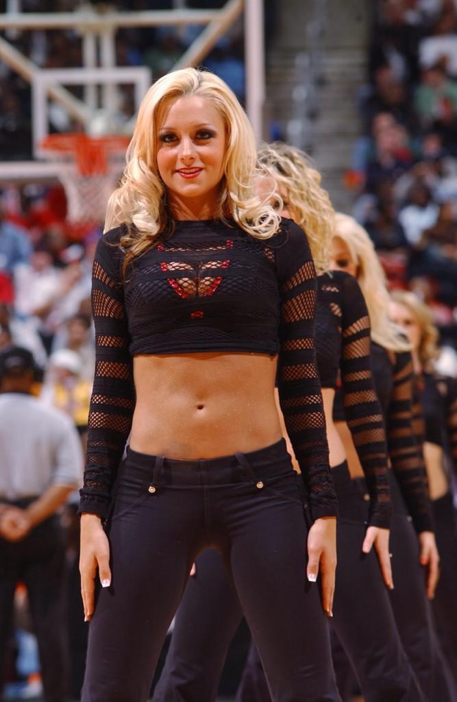 brandy cheerleader Former blair nba