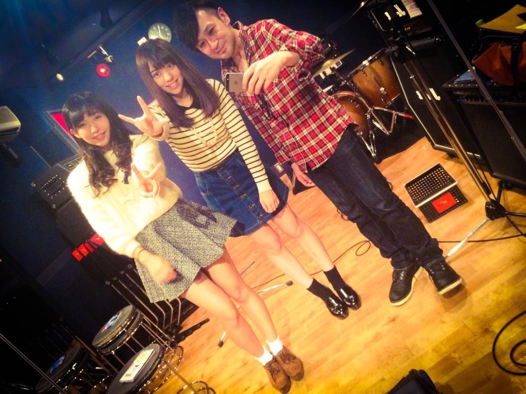 """今日は今年メジャーデビューを果たした、札幌出身のアイドルユニット""""WHY@DOLL""""の実戦パフォーマンストレーニングでした! 11月11日に、彼女達のワンマンライブが恵比寿リキッドルームで開催されます! ぜひぜひ応援お願いします! http://t.co/hb9SqtSahj"""