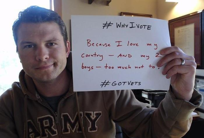 Veterans are voting this year to save our country!  #tcot #GOTVets #2A @CenterMassGroup @Spike72AFA @KurtSchlichter http://t.co/ws5WKaHeqf