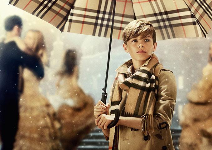 【動画】ベッカムの息子ロメオが主演!バーバリーの2014年クリスマスフィルム公開
