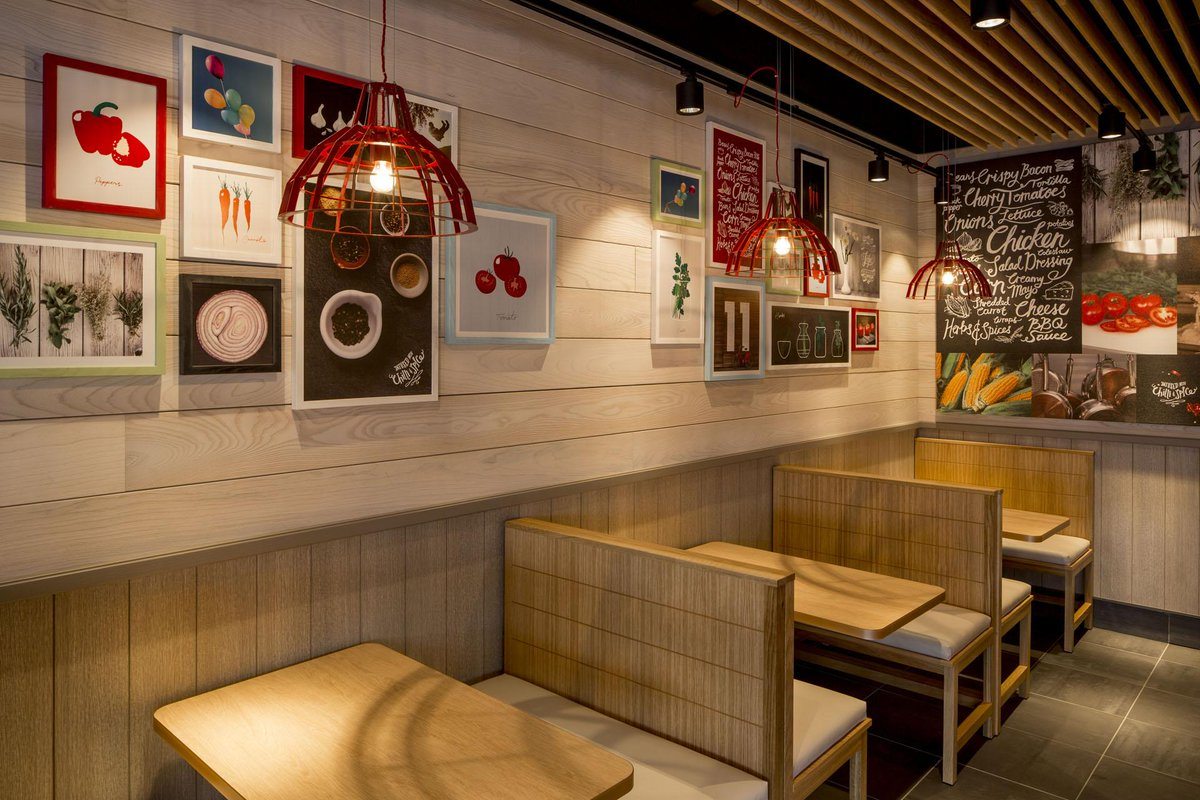 fast food chain kfc has a radical new interior design scoopnest com rh scoopnest com interior design fast food shop fast food interior design images
