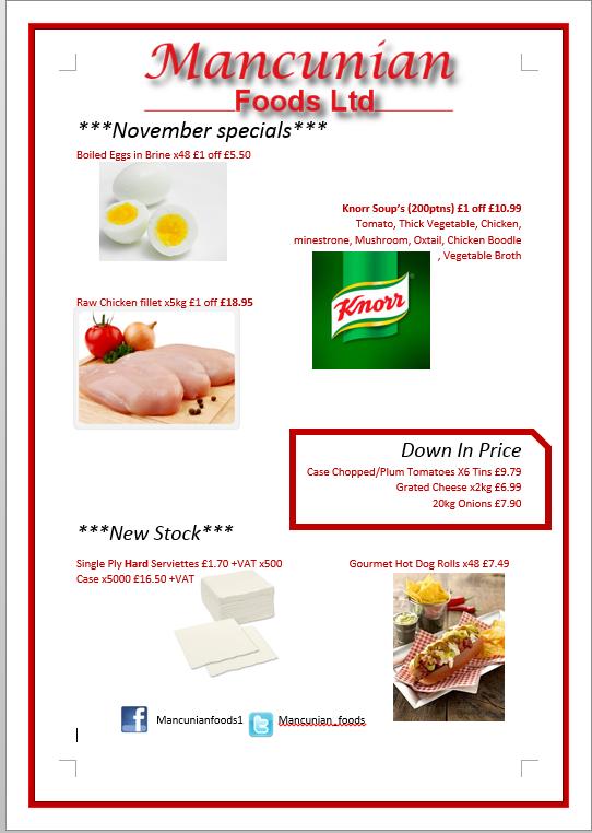 Mancunian Foods (@Mancunian_Foods) | Twitter
