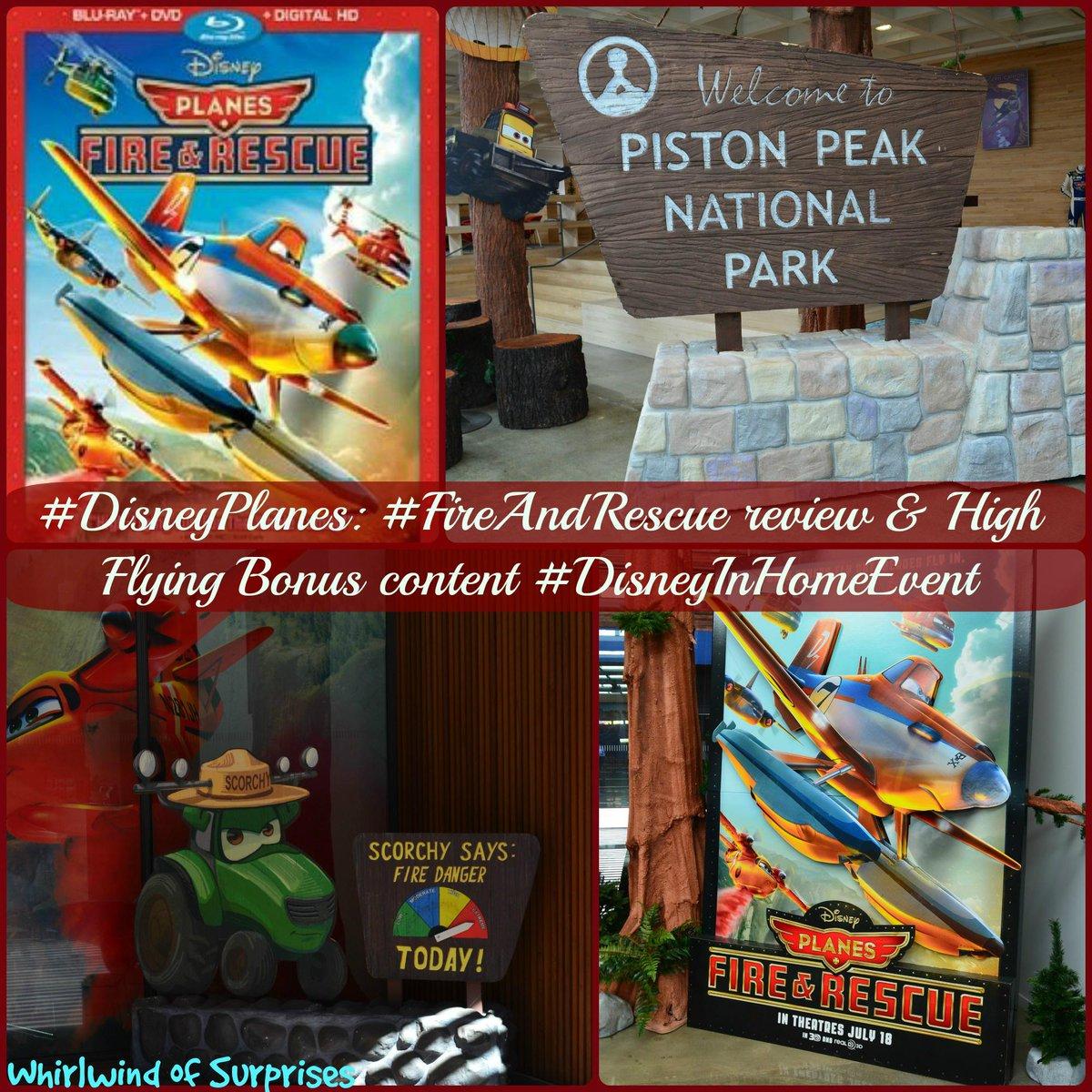 Disney Planes: #FireAndRescue Review and bonus content overview