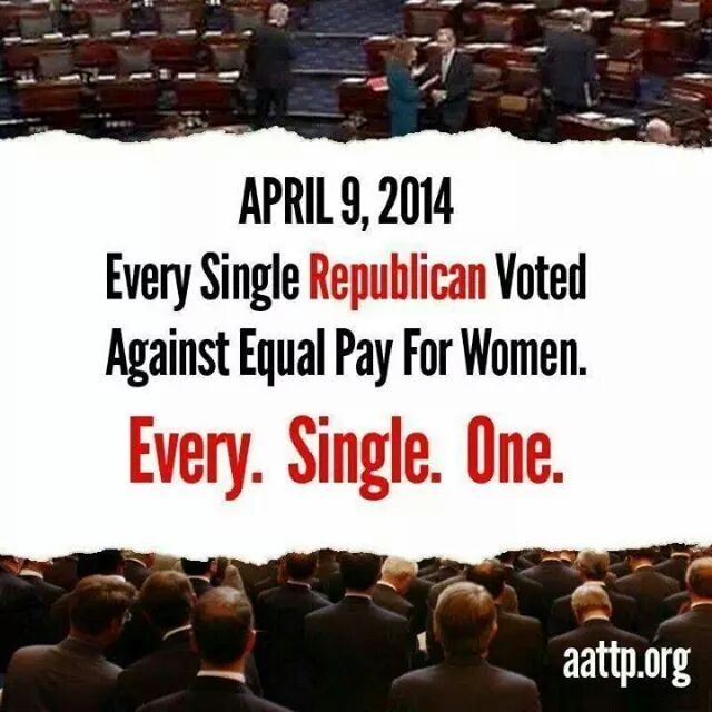 Think about this when you vote today. And the all voted against the minimum wage for everyone, too. http://t.co/FeWkqR35OW