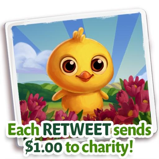 Retweet & play @Farmville2 Country Escape to raise $ for @WholesomeWave charity! #Farm4Good http://t.co/W6M1yVFKR4 http://t.co/t7HBiMqd7X
