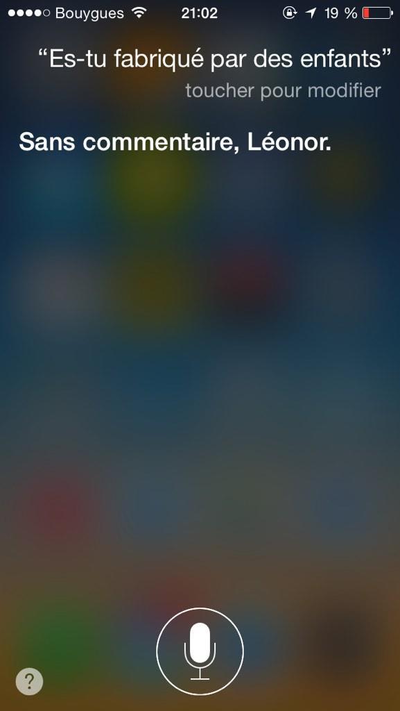 Magique. Question au Siri de mon iPhone inspirée par #cashinvestigation http://t.co/kvkZFEfD1C