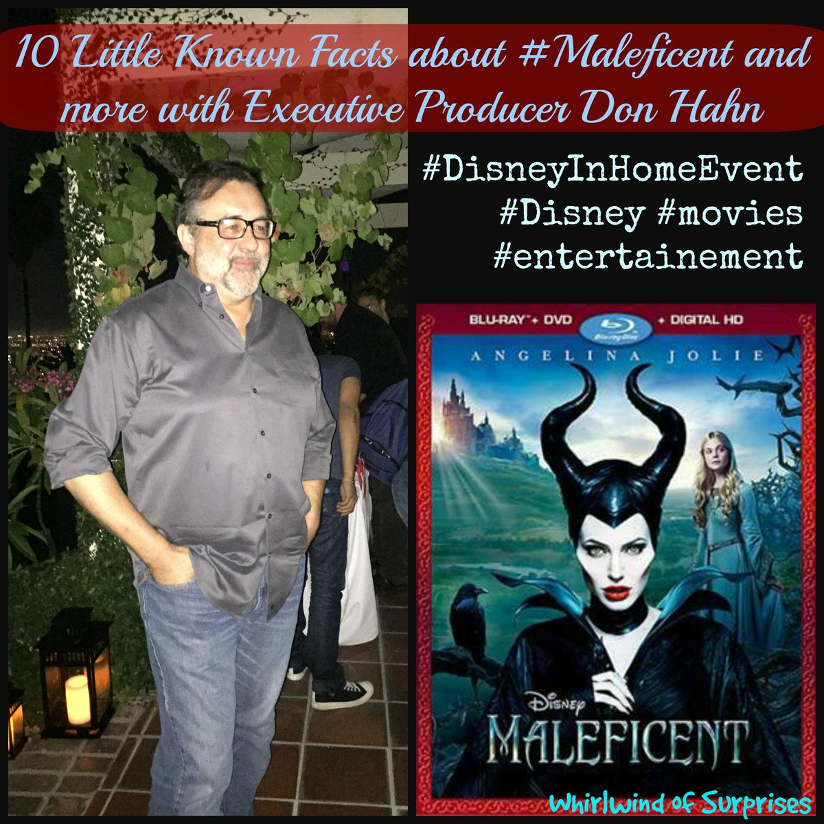 Don Hahn Maleficent Interview and review