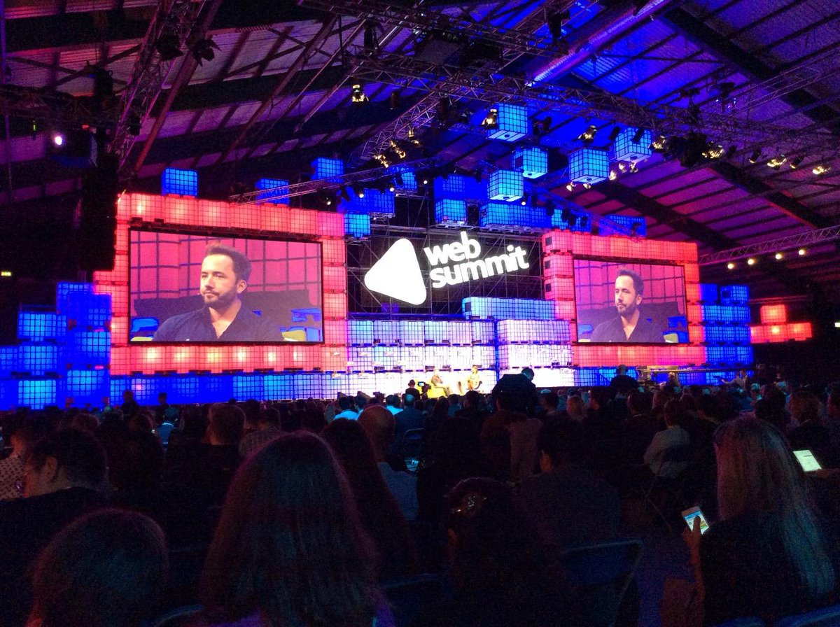 CEo of @Dropbox @drewhouston  and some inspiring stories @WebSummitHQ #websummit http://t.co/wzeE6FqZQP