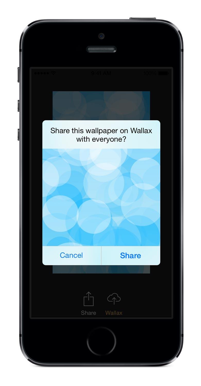 Wallax   Resize iPhone & iPad Wallpapers on Twitter