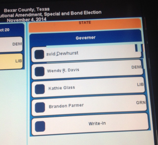 Um, wtf you guys? @GregAbbott isn't on the ballot? via @JocelynTovar_ http://t.co/I1yvpGxy8B