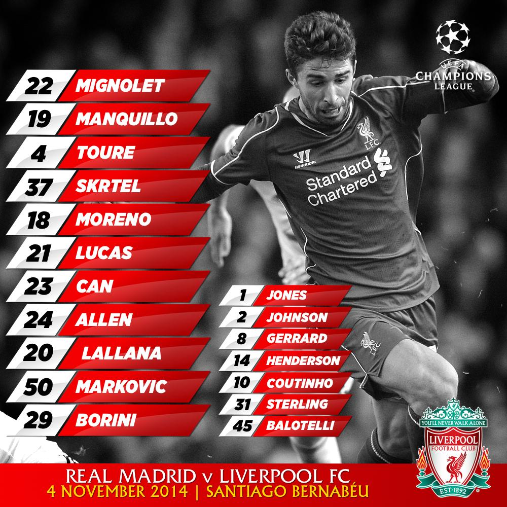 Liverpool Vs Real