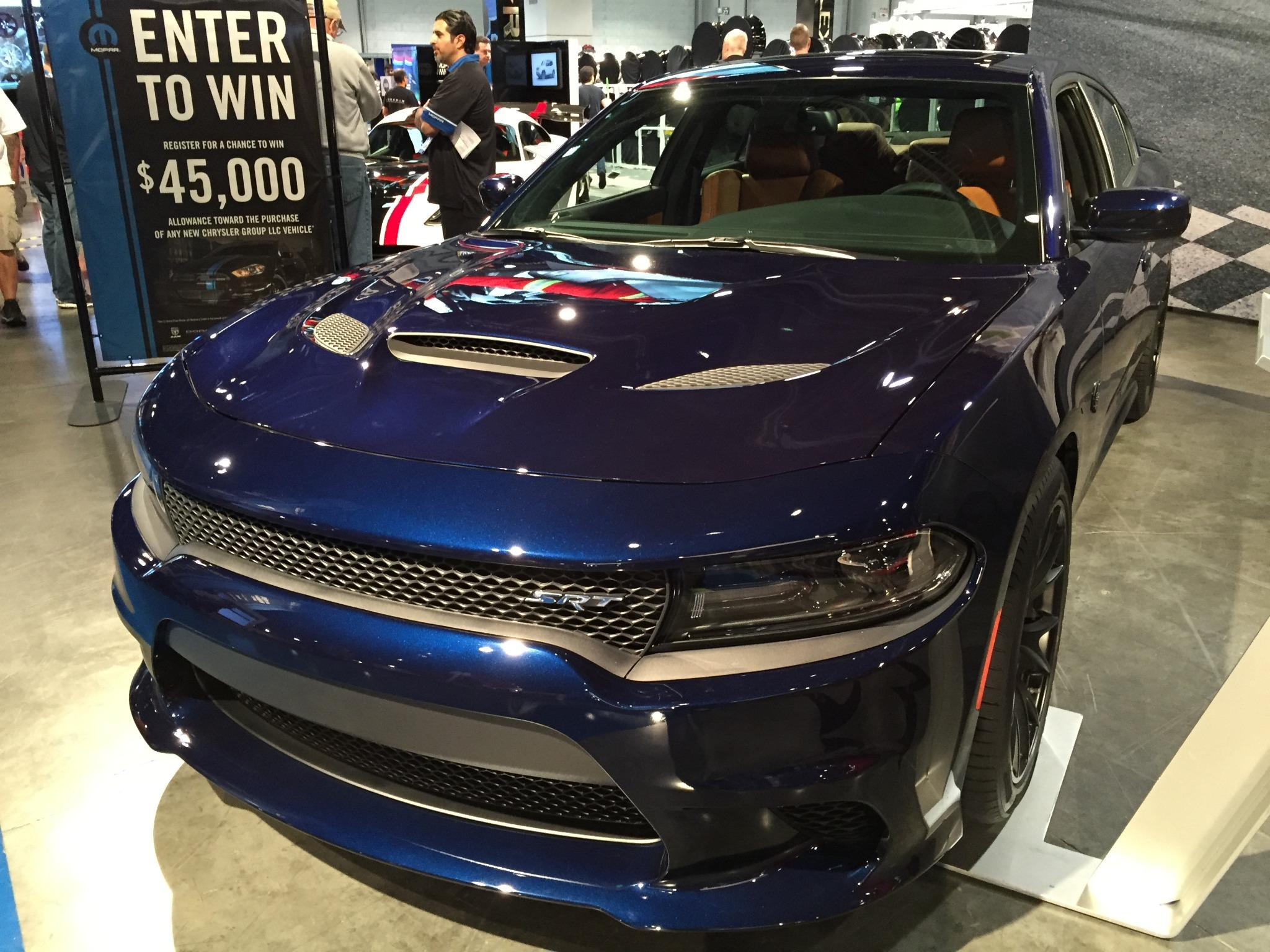 Pennzoil on twitter the 2015 dodge charger drivesrt hellcat is a beauty in blue at semashow sema2014 rd http t co nqidwn2yln