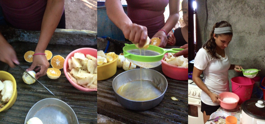 Program Director Dana making fresh juice for breakfast...nothing better! #dayinthelife #mpinicaragua @mannaproject http://t.co/KF4RxVO55J