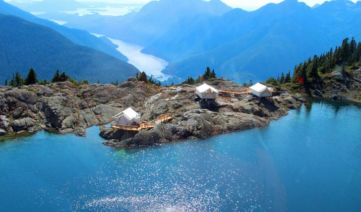 A4: Or for a unique yet luxurious camping experience, Clayoquot on Vancouver Island is unbeatable, that view #TL_Chat http://t.co/L7p1LDI8Qm