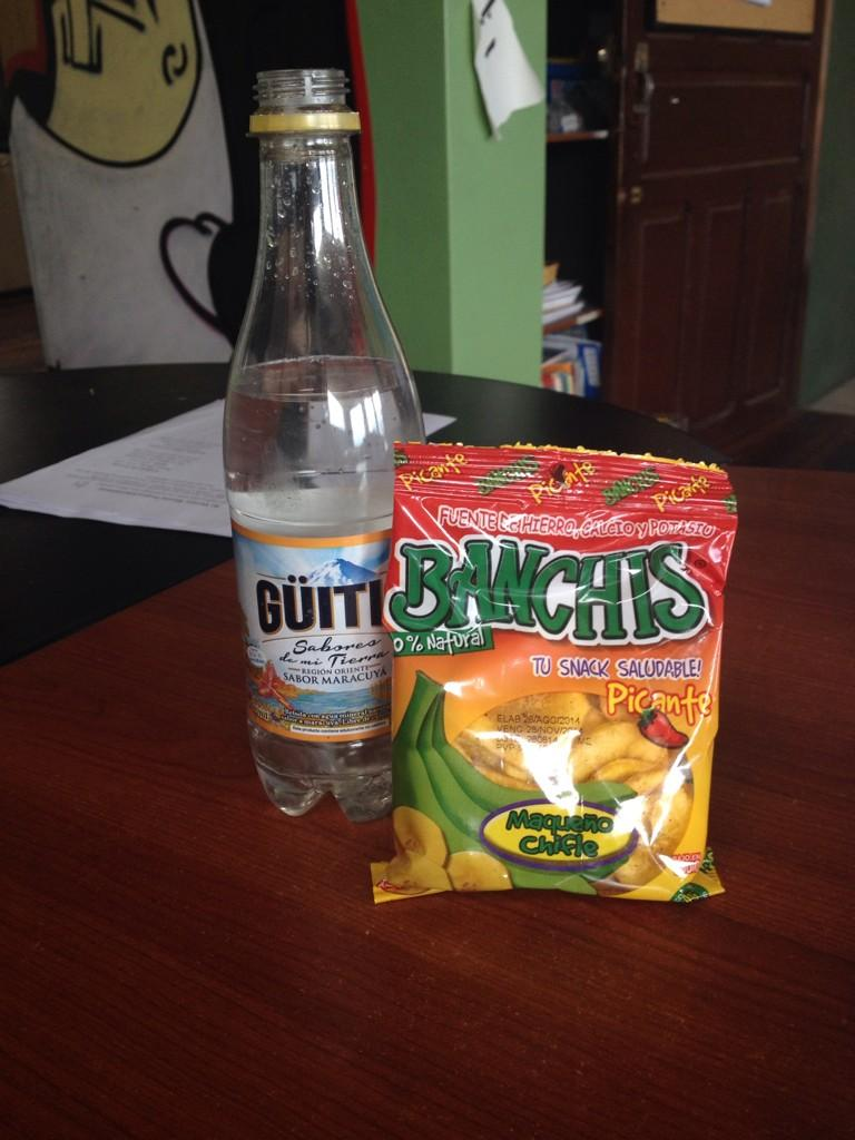 Program Directors can't live without their guitig and chifles (spicy banana chips) #mpiecuador @mannaproject http://t.co/WBDPYD5gz7
