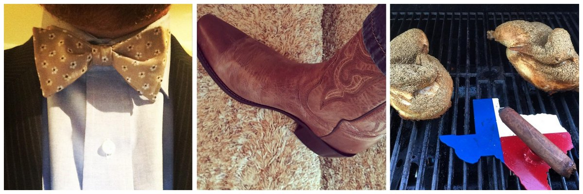 """.@briankolb is all #Bowties, #Boots & #BBQs! <- """"who doesn't love quirky and fun?"""" ~@cmcphillips #BizHeroes #Branding http://t.co/650P6pYR08"""