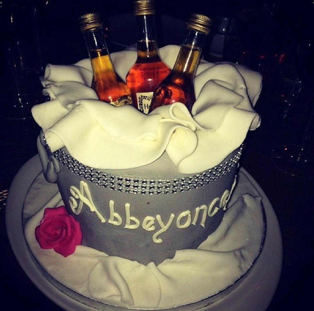 Bake It Special on Twitter Drinks bucket cake Hennessey alcohol
