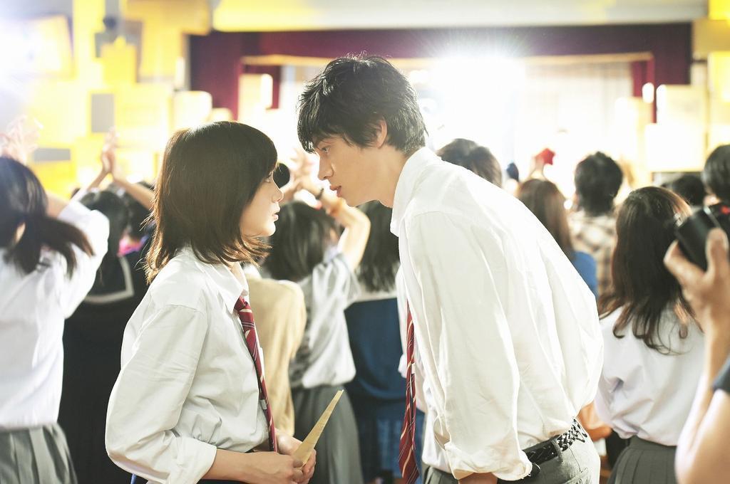 Current Japanese Movie Ao Haru Ride  2014 -2106