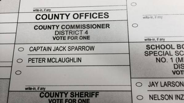A real-life Captain Jack Sparrow is on the Minnesota ballot: http://t.co/OLwxjSjqRu http://t.co/pKrmE44Tts