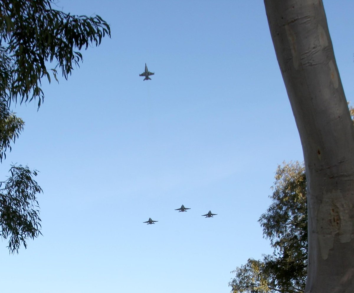 #AirForce flypast commemoration for former Prime Minister Whitlam (file photo) #Sydney 12:45pm http://t.co/h6kf70sFt4