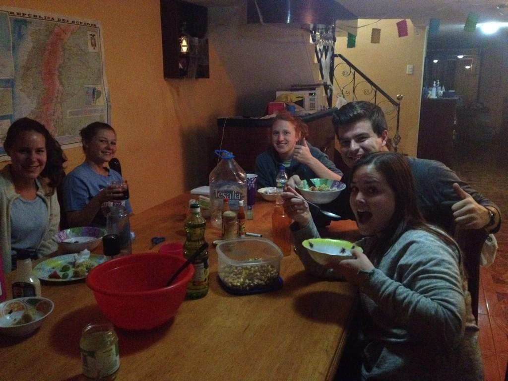 Manna family dinner-- always a highlight of the day! #dayinthelife #mpiecuador @mannaproject http://t.co/Sta3J9275r