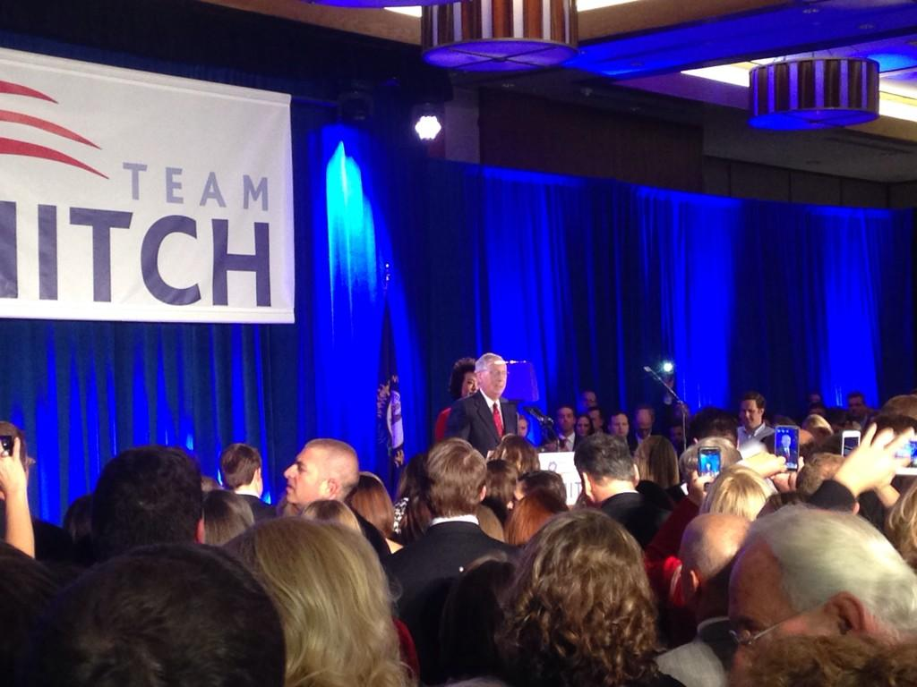 "McConnell takes the stage to cheers of ""Mitch! Mitch!"" @ajam http://t.co/SvIs9tzTLu"