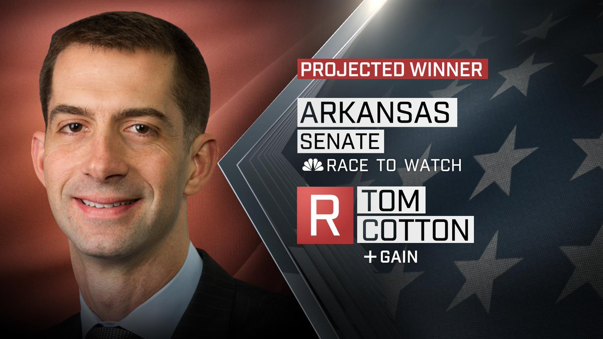 Tom Cotton crushes Mark Pryor in Arkansas