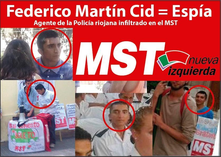 La actualidad del espionaje estatal a la militancia y la izquierda - El Chipi and company denuncia el Proyecto X en TN B1pG8OnIQAMFo8S