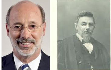 Tom Wolf to become PA's first bearded governor since Samuel W. Pennypacker (1903-1907) http://t.co/LxzeajqC2z