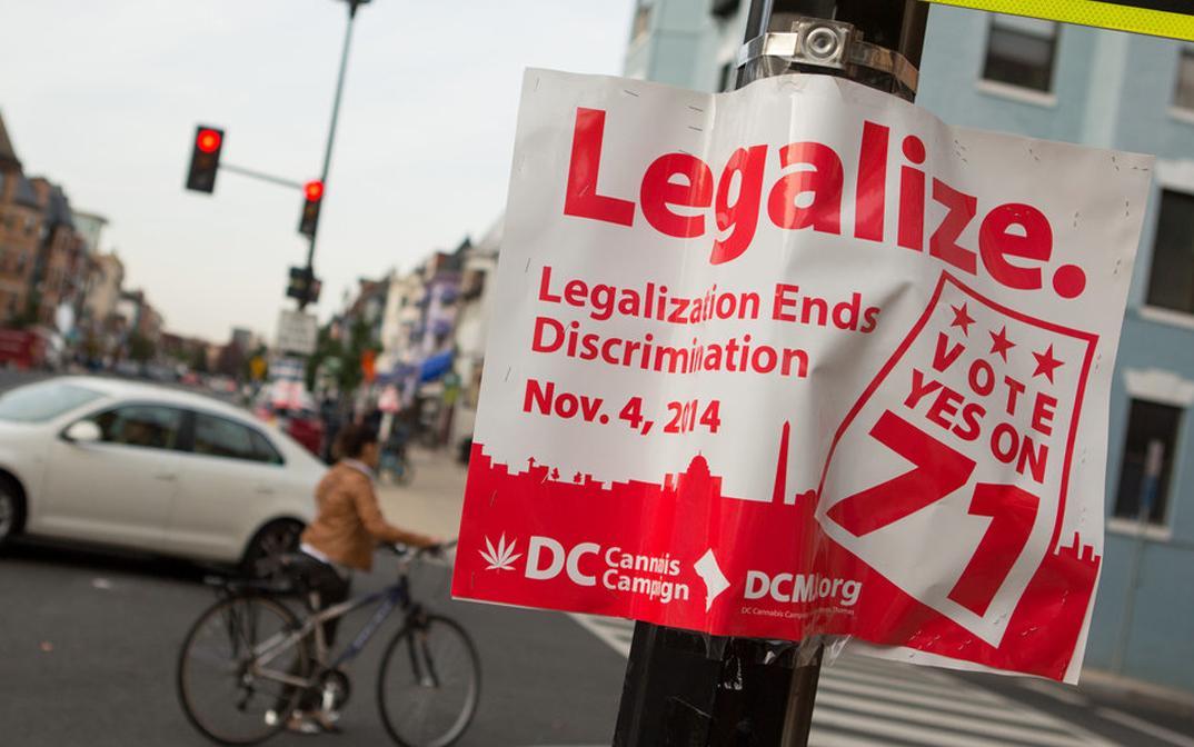Washington D.C. voters say YES to #marijuana legalization with 65-29.5% in favor http://t.co/7hoO6ZaExw #uspoli http://t.co/GTSJuXiFMu