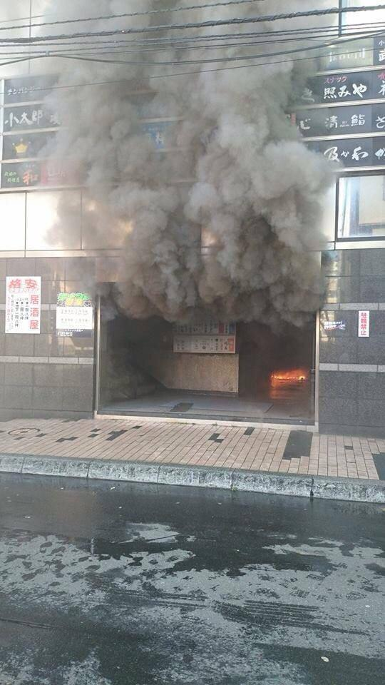 札幌すすきの プリンス会館にて炎上中。当分営業できないな。こりゃ。 pic.twitter.com/n9wlXQX8ct