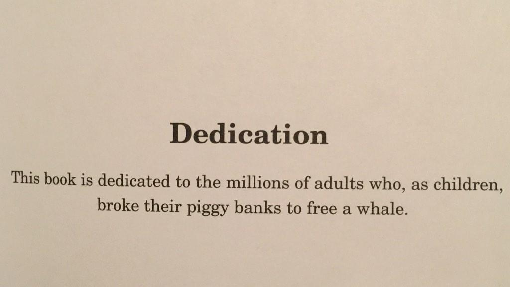 Best thesis dedication never