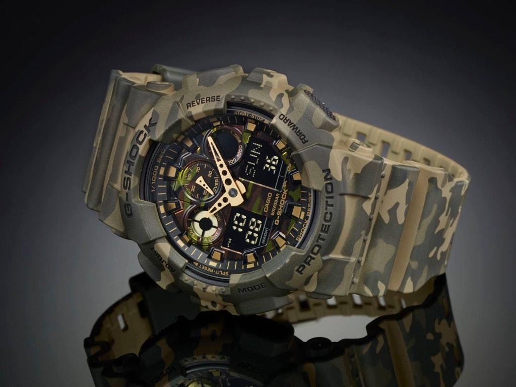 """0d2f4dd45a97 gshockaus out at the end of the month the g shock ga100cm 5a gshock camo. """""""