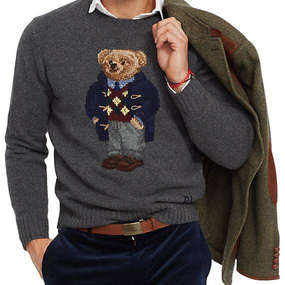 Lauren Bear Argyle Ralph Vintage WoolIssue Style Polo qSMGVUpz