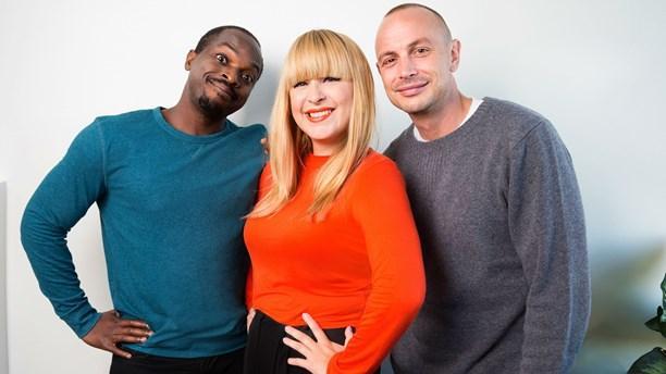 FLASH! @Musikhjalpen:s programledare är @KodjoAkolor, @linneahendrix och @PetterAlexis! #mh14 http://t.co/XcnMWn6Rrs http://t.co/dFLrHhpoib