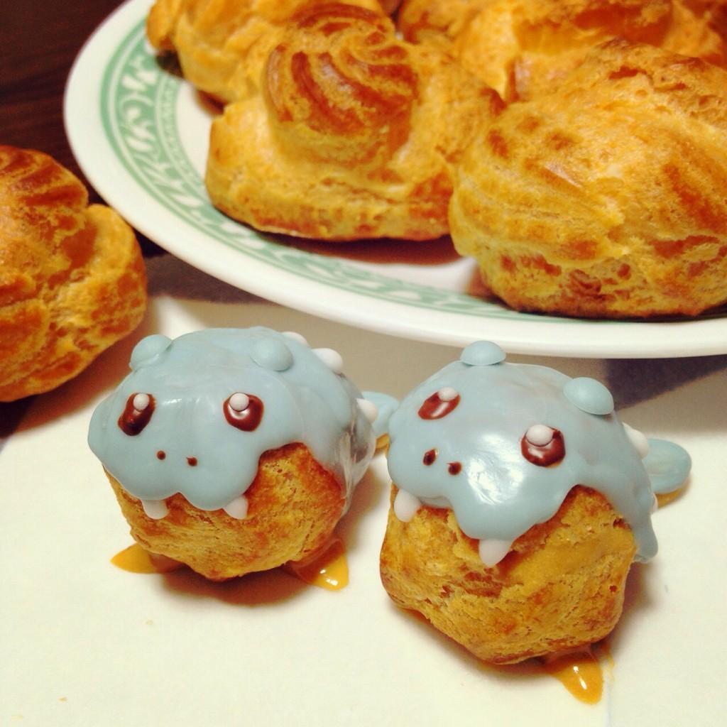 タマザラシのシュークリーム♪ pic.twitter.com/XIm4Te3IOL